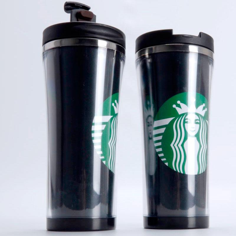 Coffee Travel Mug Double Layer Stainless Steel Insert Mug
